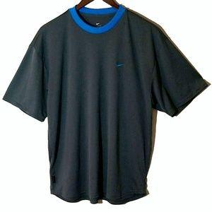 Nike Dri-Fit Dark Grey Short Sleeve Athletic Shirt